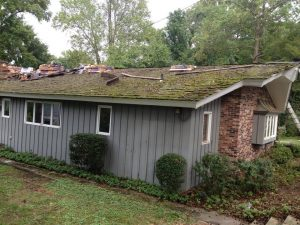 Residential Roof repair and gutter installtion